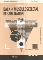 Journal of Back and Musculoskeletal Rehabilitation template (IOS Press)
