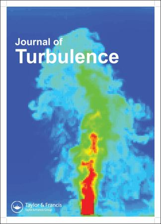 Journal of Turbulence template (Taylor and Francis)