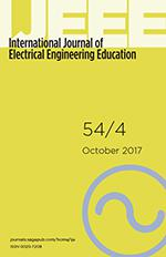 International Journal of Electrical Engineering Education template (SAGE)