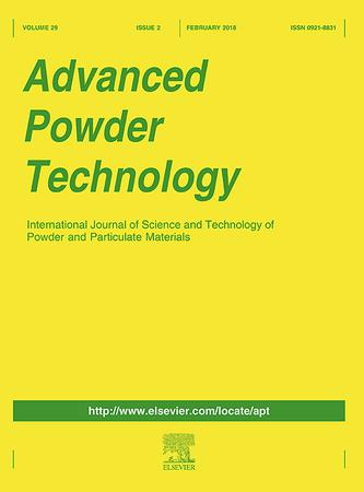 Advanced Powder Technology template (Elsevier)