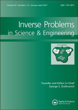 Inverse Problems in Science and Engineering template (Taylor and Francis)
