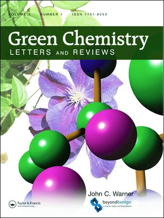 Green Chemistry Letters and Reviews template (Taylor and Francis)