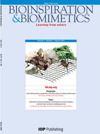 Bioinspiration & Biomimetics template (IOP Publishing)