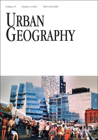 Urban Geography template (Taylor and Francis)