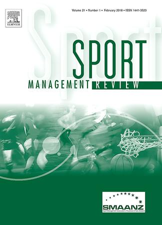 Sport Management Review template (Elsevier)