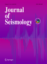 Journal of Seismology template (Springer)