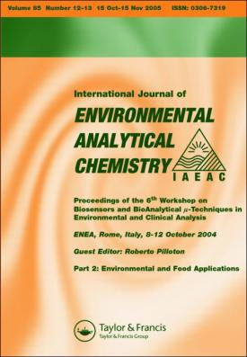 International Journal of Environmental Analytical Chemistry template (Taylor and Francis)
