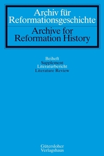 Archiv für Reformationsgeschichte / Literaturberichte - Archive for Reformation History / Literature Review template (De Gruyter)