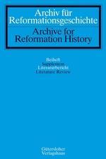 Archiv für Reformationsgeschichte / Literaturberichte - Archive for Reformation History / Literature Review template (De Gruyter)