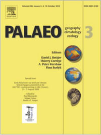 Palaeogeography, Palaeoclimatology, Palaeoecology template ( Palaeoclimatology)