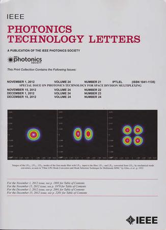 IEEE Photonics Technology Letters template (IEEE)