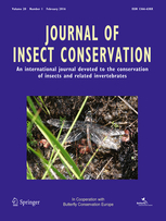 Journal of Insect Conservation template (Springer)