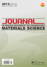 Journal of Wuhan University of Technology-Mater. Sci. Ed. template (Springer)