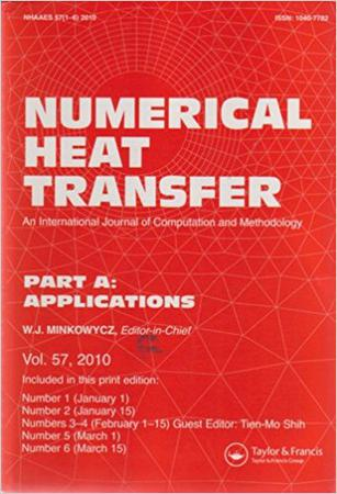 Numerical Heat Transfer, Part A: Applications template ( Part A: Applications)