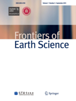 Frontiers of Earth Science template (Springer)