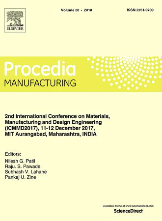 Procedia Manufacturing template (Elsevier)
