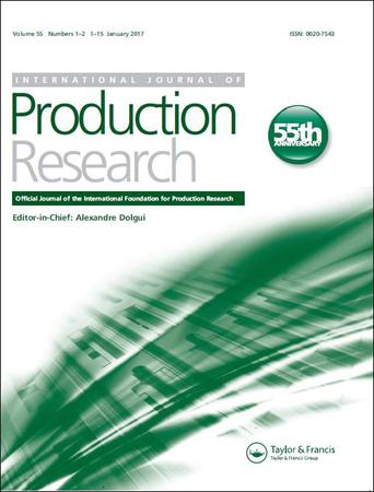 International Journal of Production Research template (Taylor and Francis)