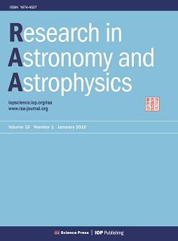 Research in Astronomy and Astrophysics template (IOP Publishing)