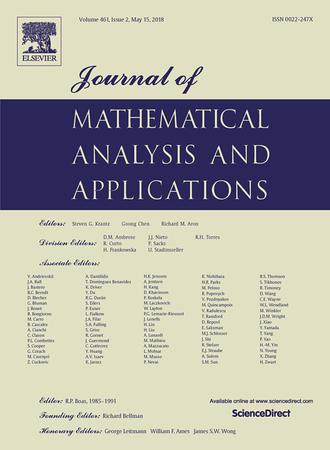 Journal of Mathematical Analysis and Applications template (Elsevier)