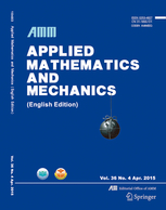 Applied Mathematics and Mechanics template (Springer)