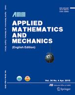 Applied Mathematics and Mechanics template (Springer)