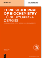 Turkish Journal of Biochemistry template (De Gruyter)