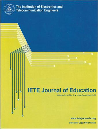 IETE Journal of Education template (Taylor and Francis)