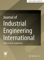 Journal of Industrial Engineering International template (Springer)