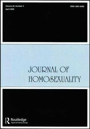 Journal of Homosexuality template (Taylor and Francis)