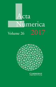 Acta Numerica template (Cambridge University Press)
