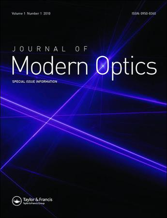 Journal of Modern Optics template (Taylor and Francis)