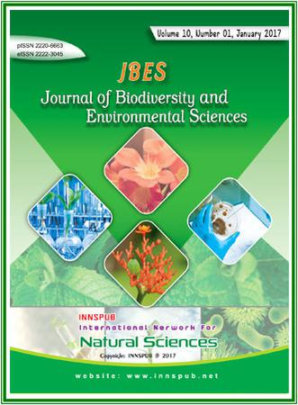 Journal of Biodiversity and Environmental Sciences (JBES) template (International Network for Natural Sciences)