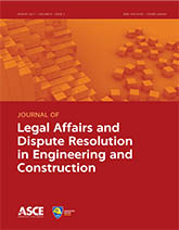 Journal of Legal Affairs and Dispute Resolution in Engineering and Construction template (American Society of Civil Engineers)