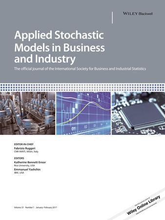 Applied Stochastic Models in Business and Industry template (Wiley)