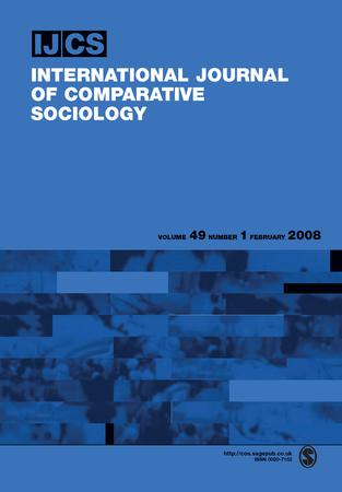 International Journal of Comparative Sociology template (SAGE)