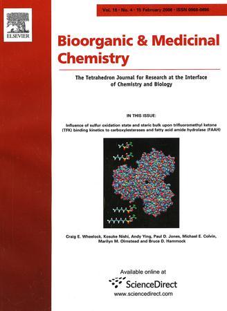 Bioorganic & Medicinal Chemistry template (Elsevier)