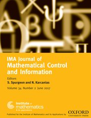 IMA Journal of Mathematical Control and Information template (Oxford University Press)