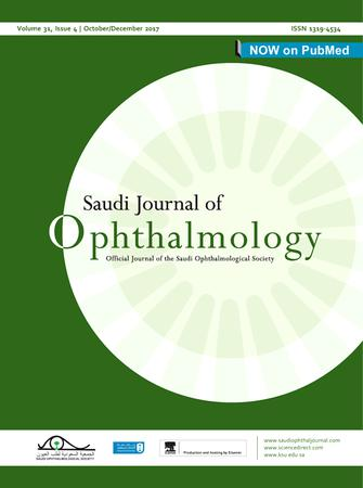 Saudi Journal of Ophthalmology template (Elsevier)