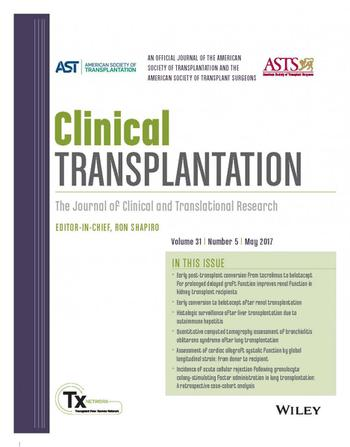 Clinical Transplantation template (Wiley)
