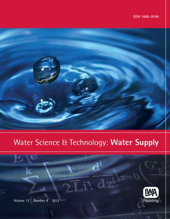 Water Science and Technology: Water Supply template (IWA Publishing)