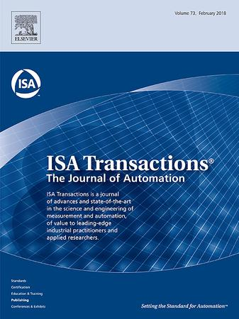 ISA Transactions template (Elsevier)