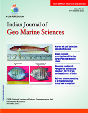 Journal of Geo-Marine Sciences (IJMS) template (NISCAIR Publications)