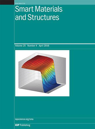 Smart Materials and Structures template (IOP Publishing)