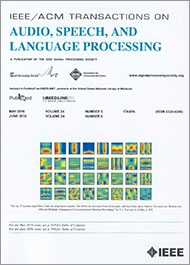 IEEE/ACM Transactions on Audio, Speech, and Language Processing template ( Speech)