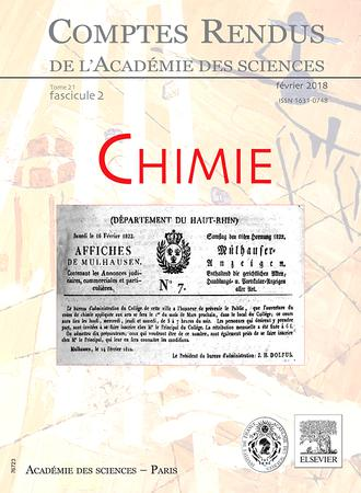 Comptes Rendus Chimie template (Elsevier)