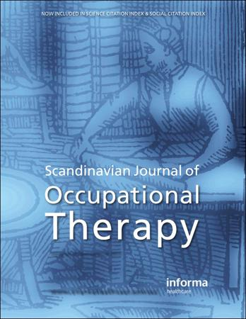 Scandinavian Journal of Occupational Therapy template (Taylor and Francis)