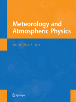 Meteorology and Atmospheric Physics template (Springer)