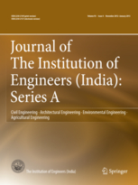 Journal of The Institution of Engineers (India): Series A template (Springer)