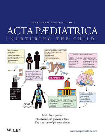 Acta Paediatrica template (Wiley)