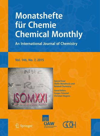 Monatshefte für Chemie - Chemical Monthly template (Springer)